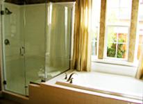 Custom Shower Glass Installation
