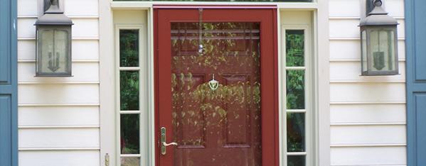 Deluxe Glass Storm Doors